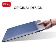 Funda ultradelgada de lujo para ordenador portátil para MacBook Pro Air 13 Xiaomi Air HP 10 12 15,4 pulgadas, funda para portátil, funda impermeable de cuero PU