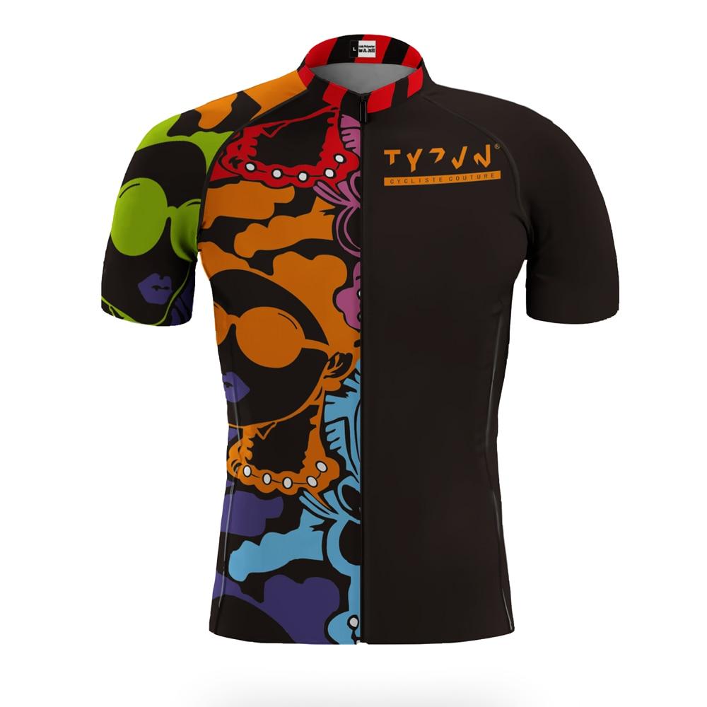 Tyzvn-Conjunto de ropa de ciclismo para hombre, conjunto de alta calidad, culotte, pantalones cortos de gel