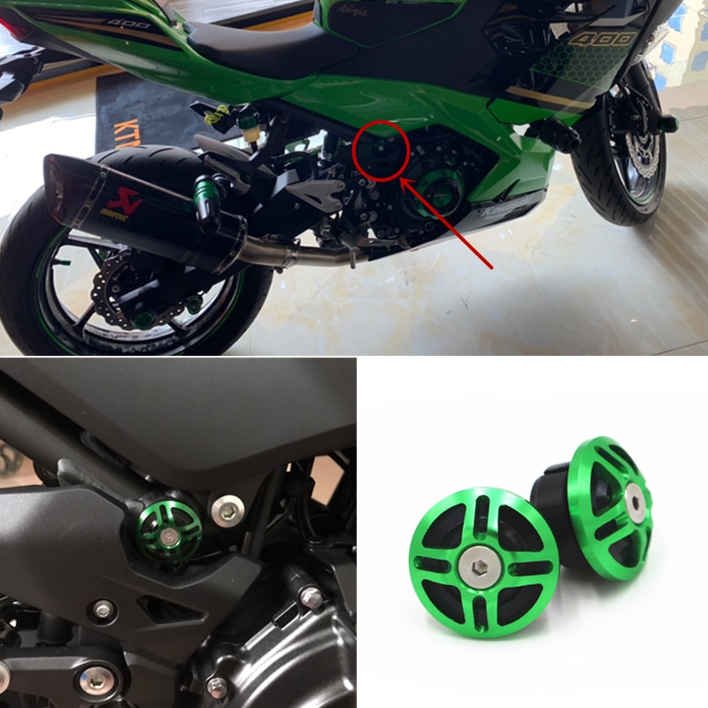 Kawasaki Ninja400 couvercle pour cadre de moto   KAWASAKI NINJA400 Z400 Ninja400 2018 2019 2020 vis décoratives, trou de cadre de moto