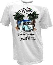 T-shirt Surf Bus Surf Pin Up rétro Samba T1 T2 T3 Auto Carin été 2019 Pop coton homme T-shirt drôle t-shirts