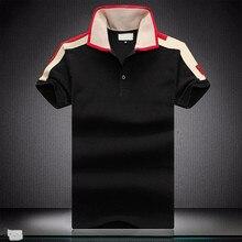 TT คุณภาพสูงใหม่สีทึบ POLO 100% เสื้อผ้าฝ้ายแขนสั้น Casual Polos Hommes แฟชั่นฤดูร้อน Lapel ชายเสื้อ