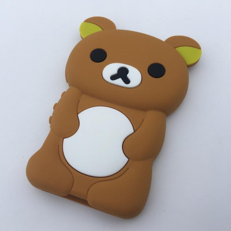 New Cute Cartoon Bear Case For Sony Walkman NW-A55HN A56HN A57HN A35 A36 A37 A45 A46 A47 A55 A56 A57 Drop-proof Silicone Case