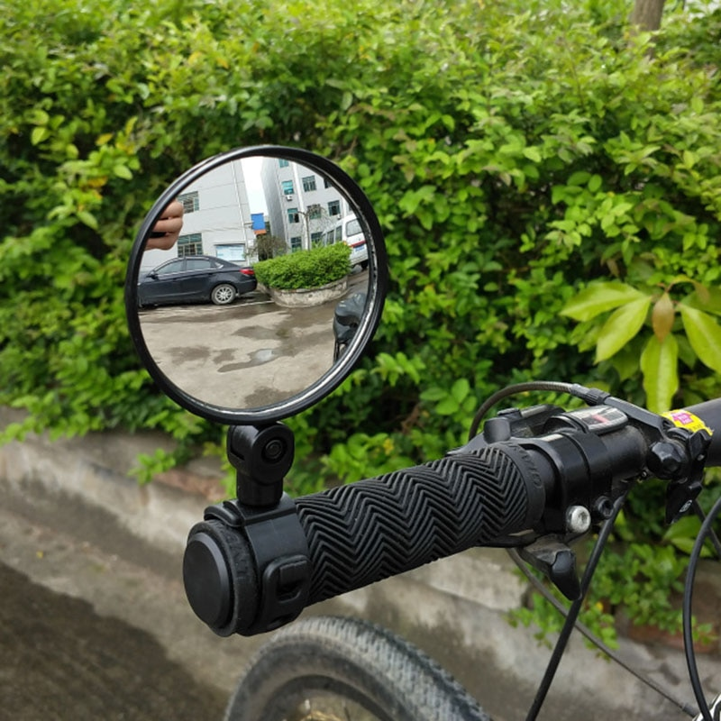 Universal Bike Mirror Rotate Wide Angle Bicycle Rearview Mirror Handlebar Back Sight Reflector Road MTB Bike Bicycle Accessories