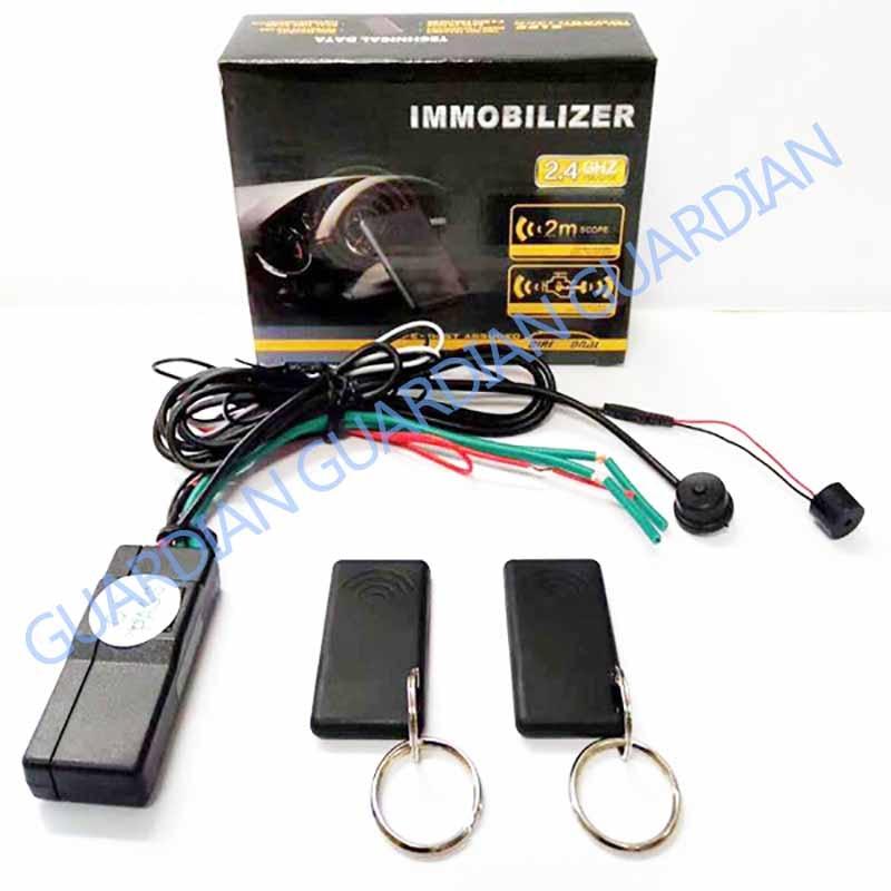 2.4G RFID Immobilizer Wireless Engine Lock Car Alarm System Anti-Hijacking Intelligent Circuit Cut O