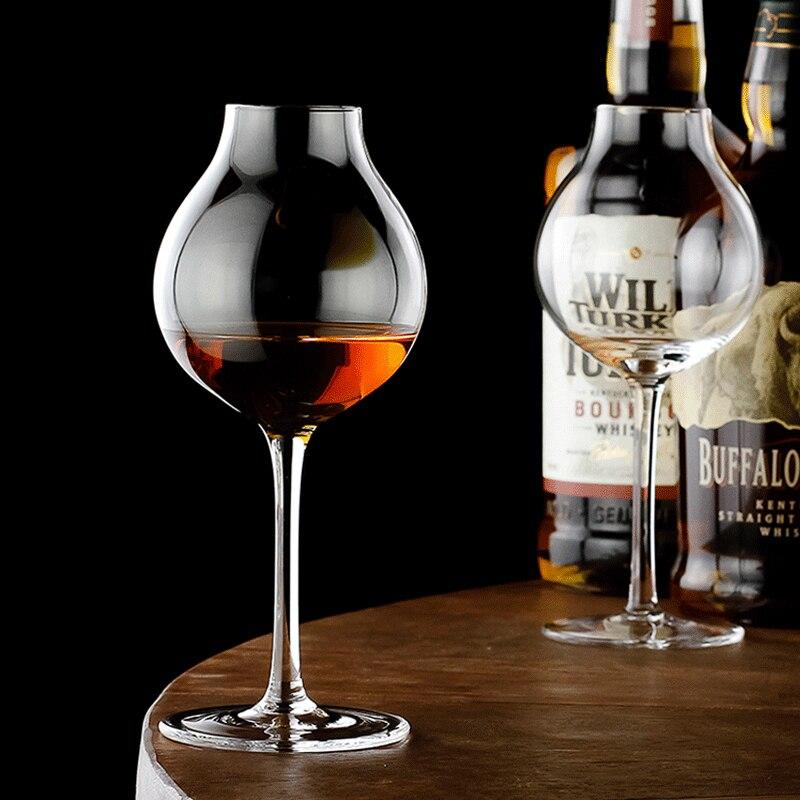 1920s المهنية خلاط ويسكي كوبيتا نوسينغ الزجاج برعم ويسكي كريستال XO Chivas ريجال كأس النبيذ تذوق نظارات
