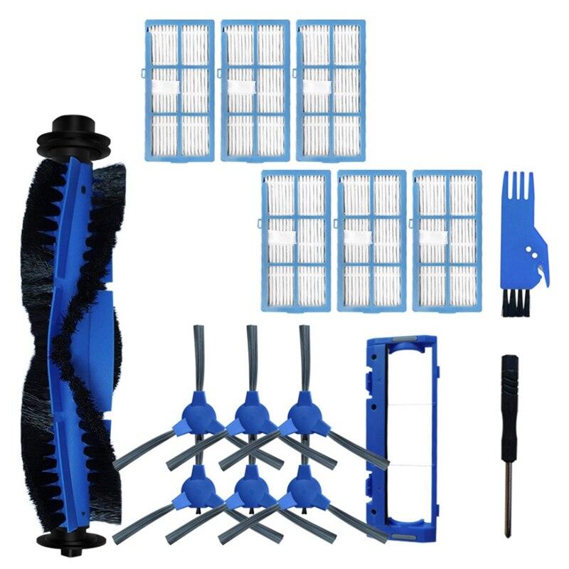مكانس كهربائية للكنس استبدال أجزاء ل كيفول E30/E31/E20 هيبا تصفية فرشاة الرئيسية فرشاة الجانب تصفية الملحقات