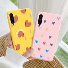 For Meizu 16T Case Protective Phone Shell Frosted Silicone Casing For Meizu 16T Color Heart-Shaped S