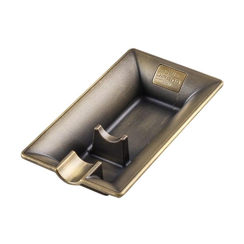 165*85*30mm luxo monção charuto cinzeiro liga simples