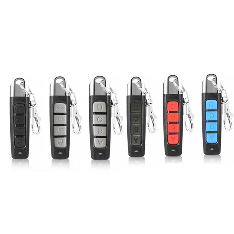 433mhz botão de controle remoto clone substituição universal porta da garagem porta do carro sirene remota adequado para abertura da porta segurança