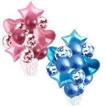 70/100/120 cm ballons Stand ballon titulaire colonne confettis ballon bébé douche enfants fête danniversaire mariage décoration fournitures