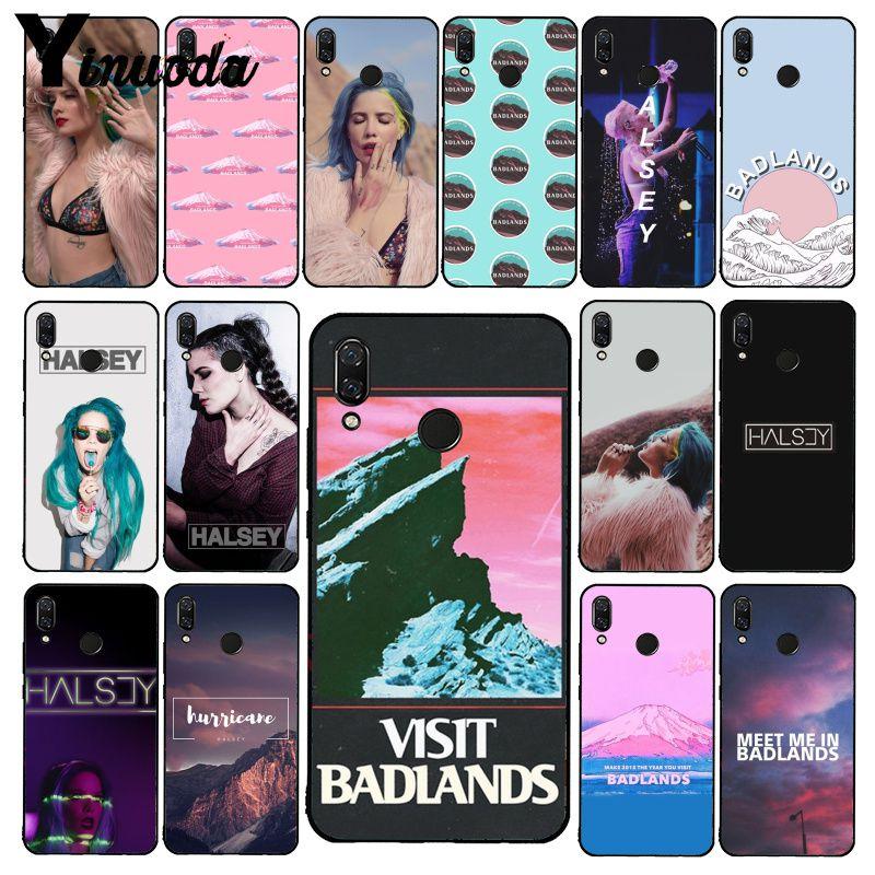 Yinuoda Badlands Halsey Phone Case for Xiaomi Redmi8 4X 6A S2 Go Redmi 5 5Plus Note8 Note5 7 Note8Pro