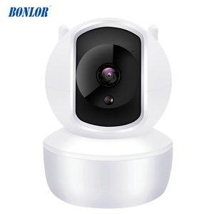 720P Беспроводной IP Камера ИК Ночное видение Видеоняни и радионяни купол в помещении 2-полосная аудио-видео CCTV Wi-Fi камеры видеонаблюдения, бес...