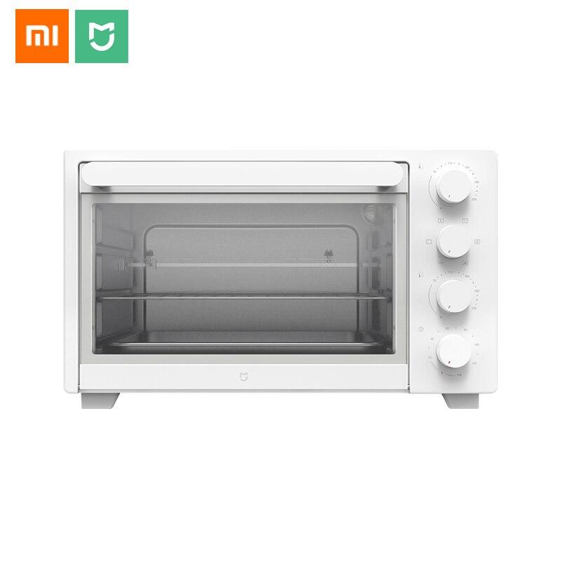 Xiaomi Mijia-فرن كهربائي 32 لتر ، أصلي ، 1600 واط ، للخبز والكعك ، ذكي ، درجة حرارة ثابتة