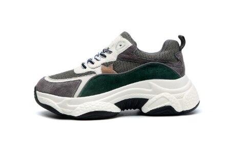 YEELOCA/2020; кроссовки; a001; женская мода; сезон осень; Прямая поставка; дышащая обувь на толстой подошве; разноцветная обувь для отдыха; KZ1506