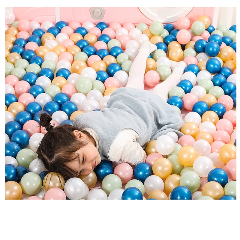 Eco-Friendly Colorful Soft Water Pool Ocean Wave Ball Pits Baby Funny Toys Stress Air Ball Kids Outdoor Fun Sports Dia 5.5cm 50 toys tent for kids tunnel ball pool pits ocean series cartoon game portable foldable outdoor sports toys with basket children