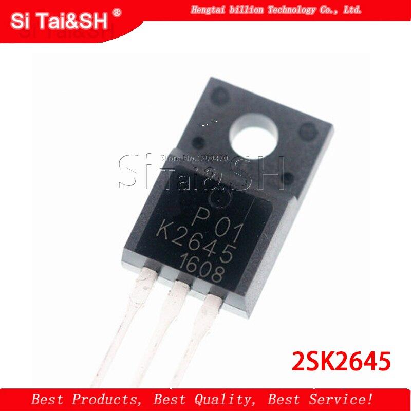 1 шт./лот 2SK2645 K2645 TO-220F 600 в 9A 1,2 MOSFET n-канальный транзистор новый оригинальный
