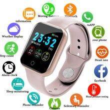 Montres numériques électroniques pour hommes femmes pression artérielle fréquence cardiaque étanche Tracker Sport horloge montre intelligente pour Android IOS