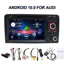 Pour Audi A3 S3 2006-2011 2 din android 10 voiture lecteur dvd multimédia GPS Navigation radio stéréo Audio Bluetooth SWC BT WIFI FM
