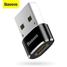 Baseus USB к USB Type C OTG адаптер USB-C адаптер конвертер Type-c для Samsung S20 Xiaomi Mi 9t Oneplus 7 6t USB OTG коннектор