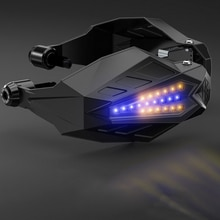 Guardamanos LED para motocicleta parabrisas Motocross protectores de mano para ktm 990 yamaha tmax 530 bmw k100 yamaha r15 v3 yamaha mt 15