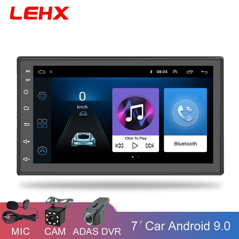 LEHX Car Radio 2 Din Android 9.0 Car Multimedia Player Autoradio 2din dvd Player For Volkswagen Nissan Hyundai Kia toyota CR-V