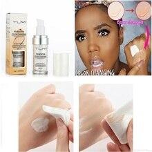 30/20ml Flüssigkeit Farbe Ändern Foundation für Haut Ton Wasserdicht Anhaltende Gesicht Abdeckung Concealer Foundation Make-Up TSLM2
