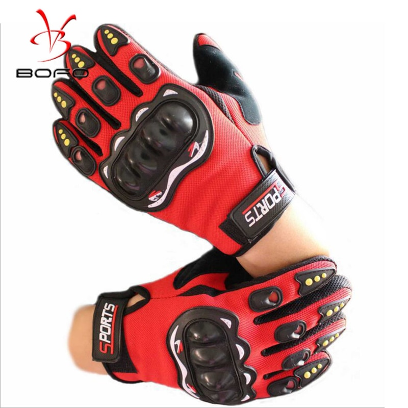 All-finger Protective Gloves Durable Motocross Cycling Gloves Anti-slip and  Wear-resistant Windproof and Warm  Motorcycle Glove latex gloves security protective five fingers wear resistant non slip 1 pair red and yellow for casting metallurgical