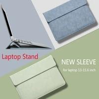 Laptop Hulse Stehen Abdeckung Fur Macbook Air Pro 13 15 16 M1 2020 A2338 A2337 Fall fur Huawei ASUS HP dell 12 13 3 14 15 6 zoll Tasche