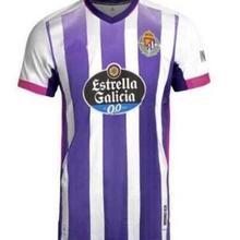 2020 Real Valladolid adult T-shirt 2020 2021 men's football shirt casual shirt T-shirt