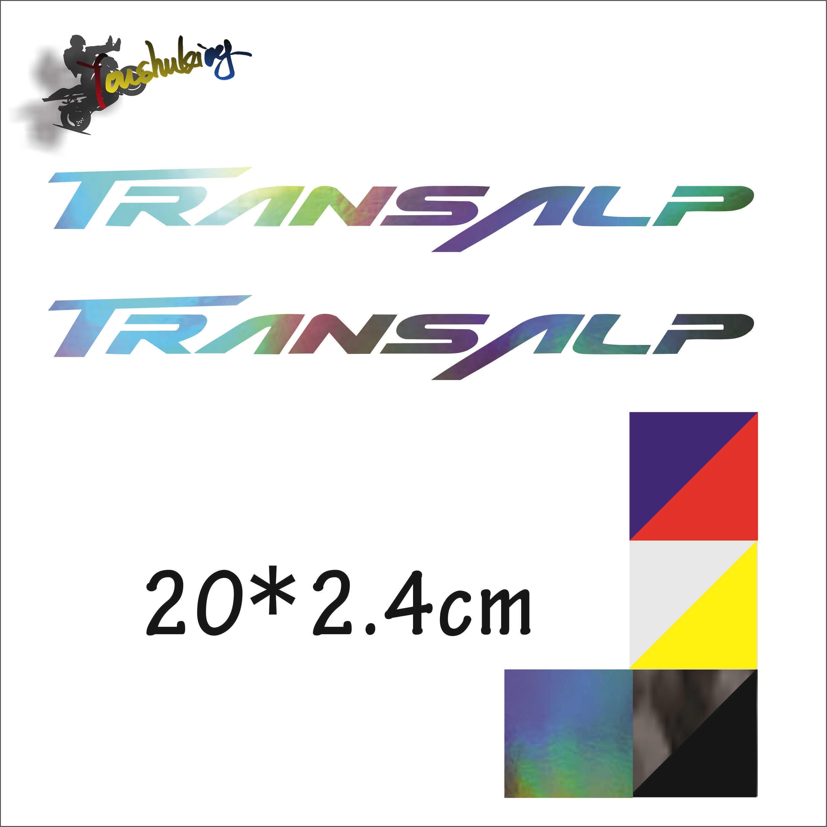 Moto rcycle etiket moto gp vücut model kask rüzgar kişilik için fit XL650V transalp transalp400v