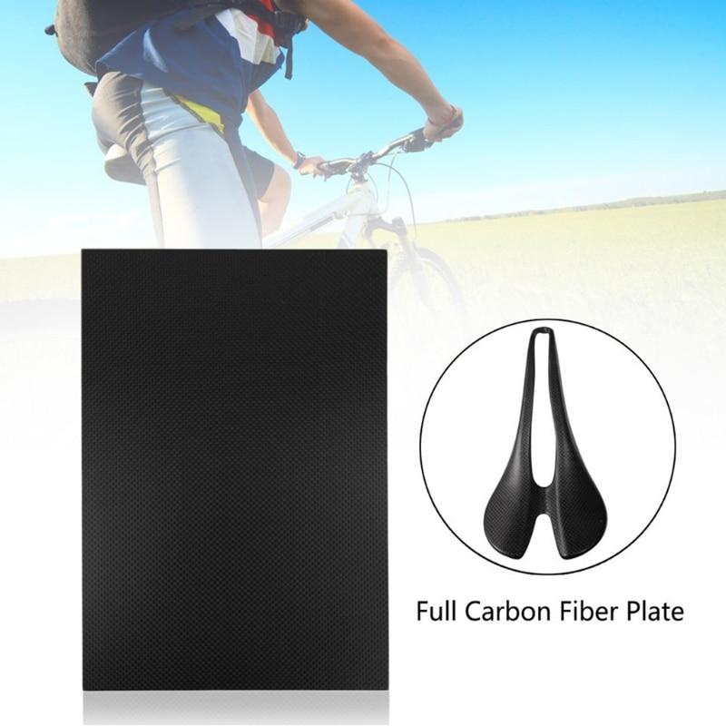 New 100% Real glossy Carbon Fiber Plate Panel Sheet 3K Plain Weave 200×300×3mm   97BC
