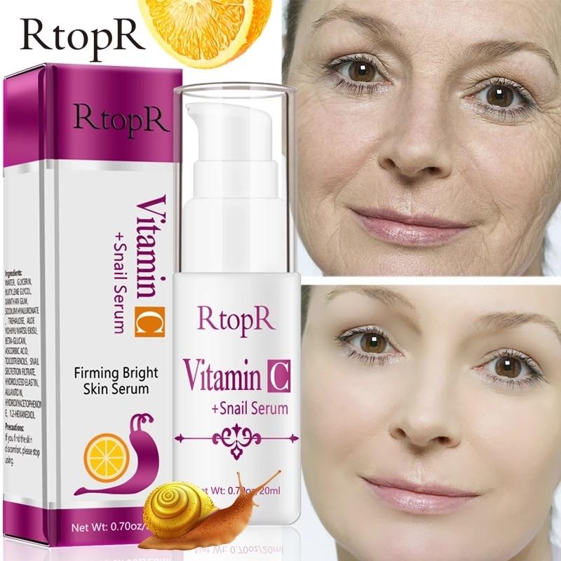 Hyaluronic Acid Vitamin c Serum Anti-Aging Shrink Pore Whitening Moisturizing Essence Oil Control Fa