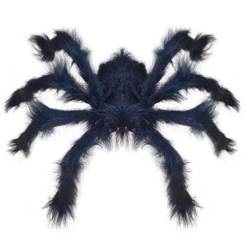30-200 см огромный паук, декоративное искусственное украшение, огромный паук, монстр для помещений и улицы, гигантский декор, большой паук