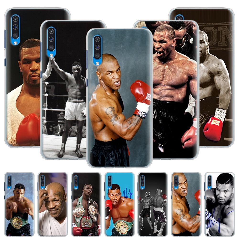 Funda de teléfono de Mike Tyson Boxer para Huawei P20 P30 P40 Pro + P10 P20 P30 Pro P40 Lite P funda dura inteligente