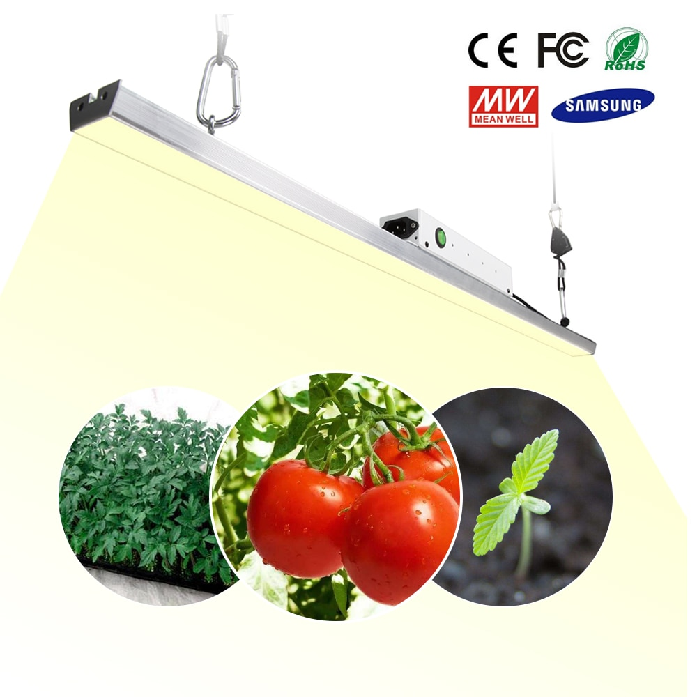LED Wachsen Licht Bar Quantum Board Samsung LM301B Volle Spektrum 300W 3500K Anlage Wachsen Lampe Für Indoor Pflanzen gewächshaus Zelt