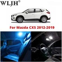 WLJH 9Pcs Canbus Kein Fehler 12v Auto interior Led glühbirne Paket Kit für 2012 2013 2014 2015 2016 2017 2018 2019 Mazda CX-5 CX5