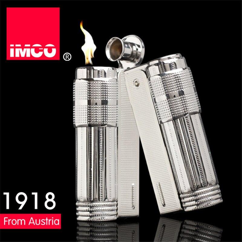 Original IMCO Lighter Old Gasoline Lighter Genuine Stainless Steel Cigarette Lighter Cigar Fire Briquet Tobacco Petrol Lighters enlarge