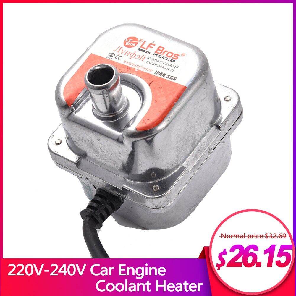 Calentador de refrigerante para Motor de coche de 220V-240V 1500W, precalentador de estacionamiento, calentador de precalentamiento de Motor de combustible, calentador de estacionamiento de aire