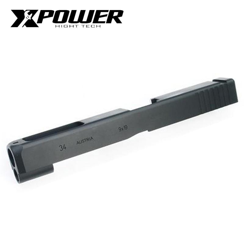 XPOWER GLOCK34 Gen4 Slide/Barrel Metal Gel Blaster Accessories Recoil Rod Toy Gun Outdoor Game Upgrade
