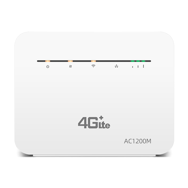 4G Router SIM Cat6 2.4G&5G Wireless Home WIFI Router Unlocked FDD/TDD With RJ45 Port Up to 64 Wifi Users