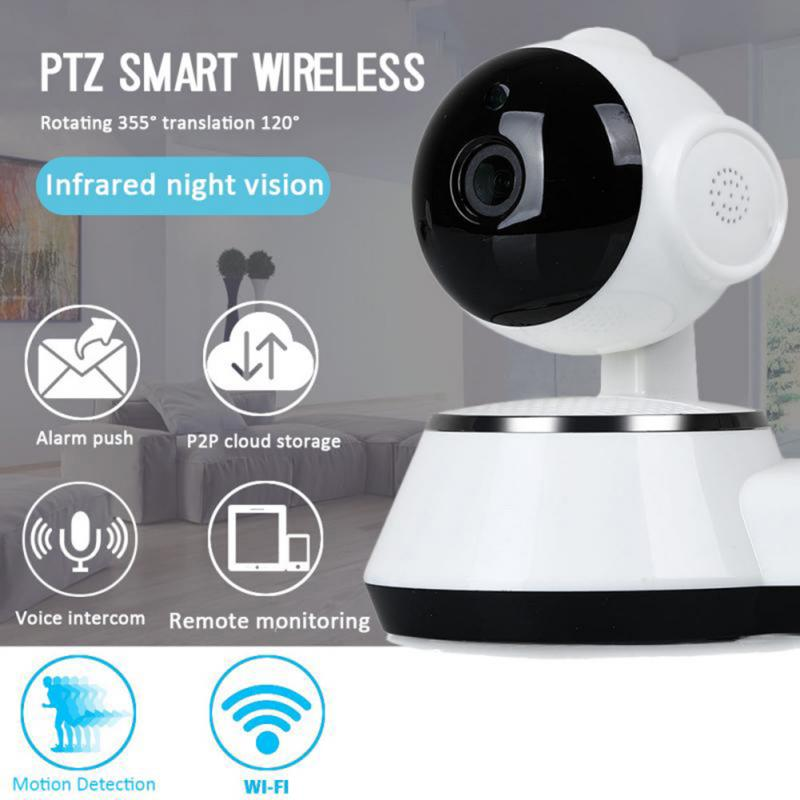 IP Camera IR Night Vision Baby Monitor Home Security 2.4G WIFI Wireless 2-Way Audio CCTV Video Surveillance Camera