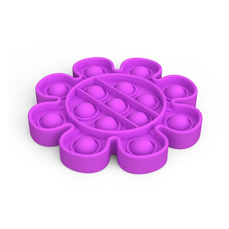10pcs/lot Push Pops Bubble Sensory Autism Needs Squishy Toys Adult Kid Funny Anti-stress Fidget it Reliver Stress Wholesale enlarge