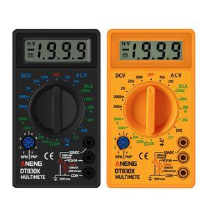 Digital Multimeter Voltmeter Ammeter Ohmmeter DC10V~1000V AC 750V Current Tester