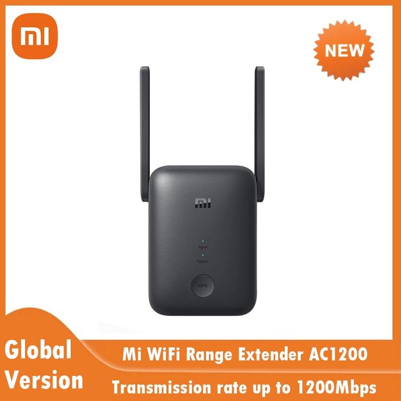 Nueva versión Global Xiaomi Mi rango WiFi extensor AC1200 de 2,4 GHz...