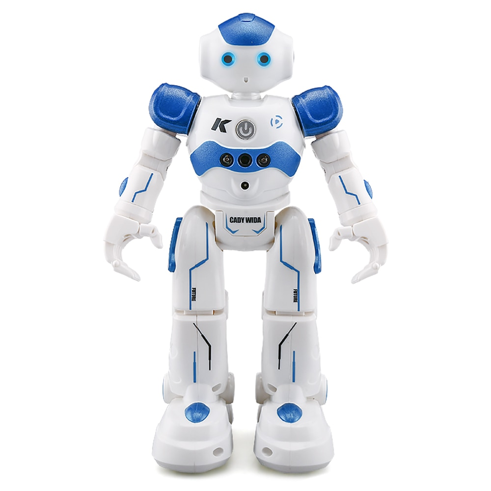 JJRC R2-روبوت RC مع التحكم في الإيماءات بالأشعة تحت الحمراء للأطفال ، لعبة روبوت Oyuncak للرقص ، هدية للأطفال