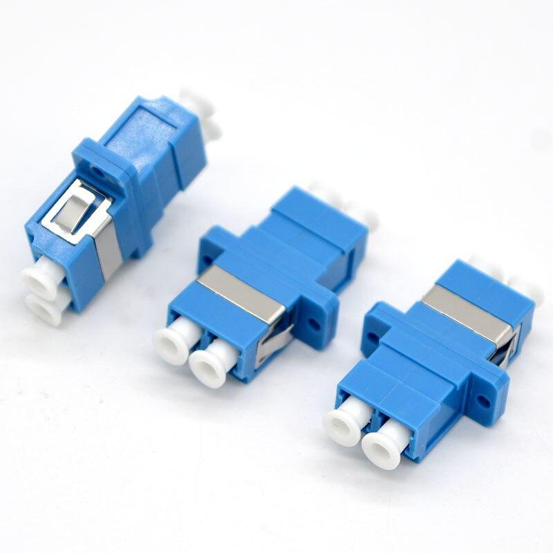 GONGFENG-موصل ألياف بصرية LC PC ، 400 قطعة ، محول أحادي الاتجاه مزدوج ، OM3 OM4 ، اتصال بشفة ، توصيل مجاني إلى روسيا