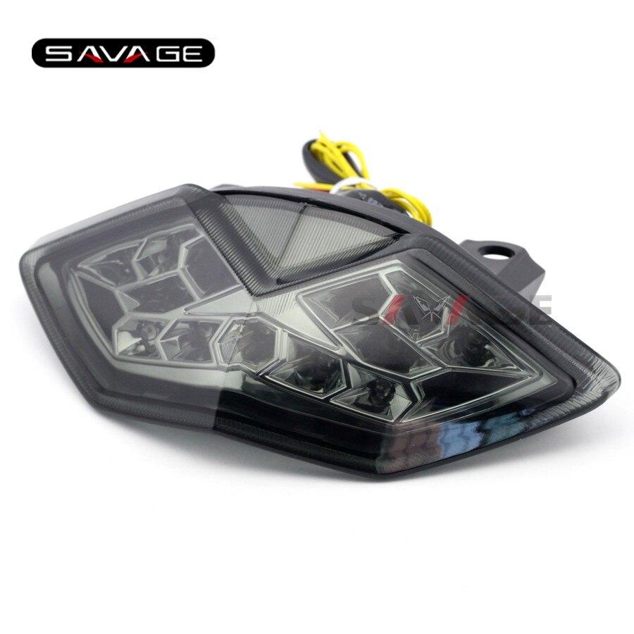 LED Tail Brake Light For KAWASAKI Z1000 10-13, Z1000SX NINJA 1000 2011-2019 KLE 650 VERSYS Motorcycle Integrated Blinker Lamp