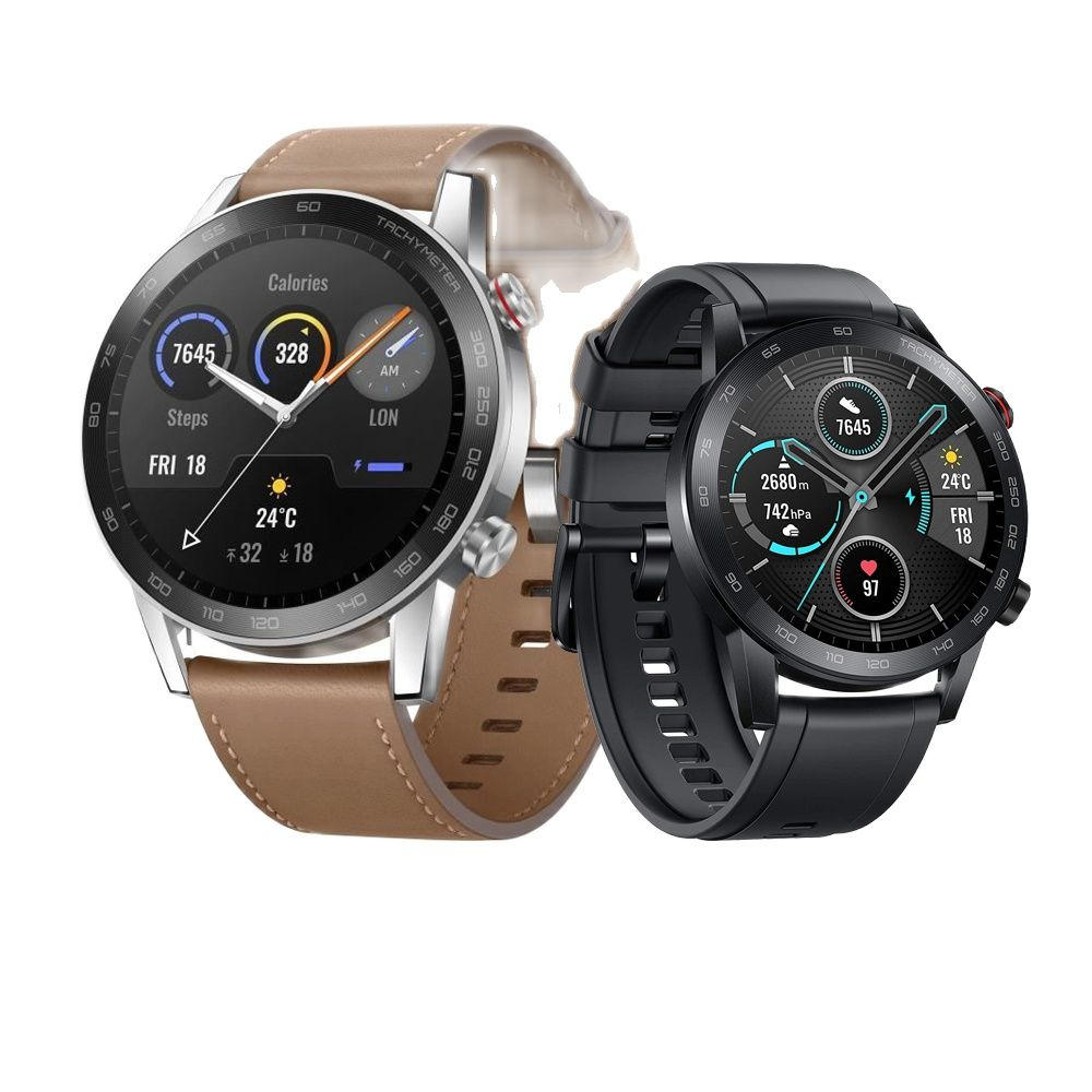 Promo HONOR MagicWatch 2 46MM Smart watch, Bluetooth 5.1 Magic Watch 2 Smartwatch ,14 Days Battery Life,Phone Call Heart Rate
