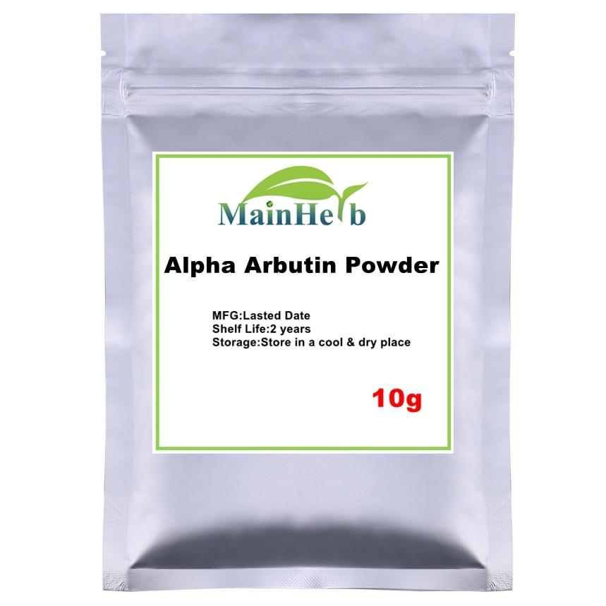 10-1000g alpha arbutin powder for skin whitening