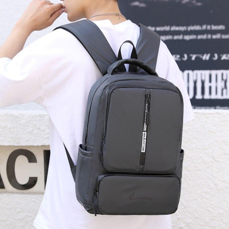 Новый повседневный мужской рюкзак, водонепроницаемый нейлоновый материал, многофункциональная вместительная дизайнерская модная уличная дорожная Студенческая сумка   АлиЭкспресс